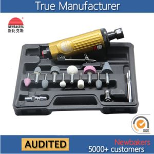 "Pneumatic Tool 1/4"" (6mm) Mini Air Die Grinder Kit Ks-329 pictures & photos"