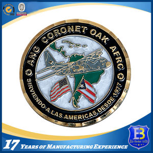 Metal Souvenir Challenge Coin with Diamond Edge pictures & photos