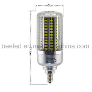 LED Corn Light E12 25W Cool White Silver Color Body LED Bulb Lamp pictures & photos