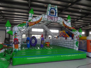 Excellent and Cheap Inflatable Castle with Ce Blower (HL-102) pictures & photos