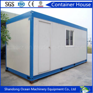 Low Cost Light Steel Structure Container House Prefabricated by Steel Frame and Sandwich Wall Panel pictures & photos