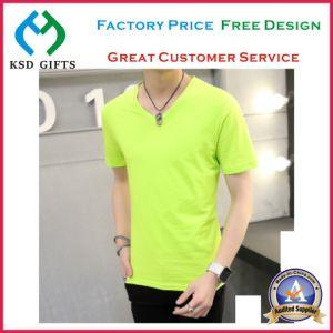 High Quality Logo Custom Plain T-Shirts pictures & photos