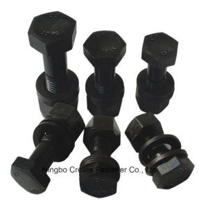 Hex Structural Bolts Heavy Hex Bolts for A325/A490/DIN6914/JIS B1186/As1252/BS4395/GB1228 pictures & photos