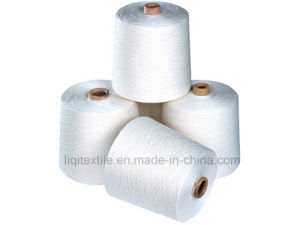 100% Polyester Spun Yarn for Sewing Use Polyester Sewing Yarn in Raw White Color pictures & photos