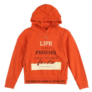 Garment Dyeing Sweat Hoody for Kids pictures & photos