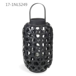 Cool Unique Vintage Style with Handle of Weave Bamboo Lanterns pictures & photos