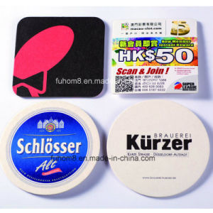 China Manufacturer Wholesale Custom Paper/Silicone/Cork/PVC/EVA Cup Coaster pictures & photos