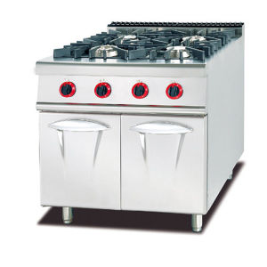 Commercial Gas 6-Burner Range with Oven & Gas Stove (GH-997A) pictures & photos