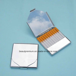 Fashion Promotional Gifts Square Shape Stainless Steel Cigarette Case BPS0185