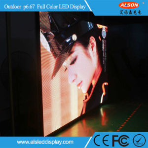 Outdoor P6.67 Full Color Digital LED Billboard for Stage Background pictures & photos