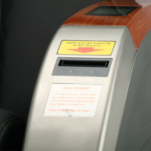 Paper Currency Vending Machine Massage Chair pictures & photos
