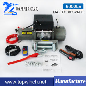 SUV 4X4 off-Road Winch Tractor Electric Winch (6000lb) pictures & photos