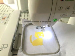 Wonyo Durable Best Selling Domestic Home Small Embroidery Machine pictures & photos