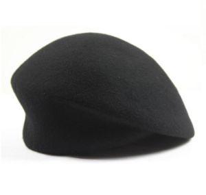 Women′s Wool Beret - Black pictures & photos