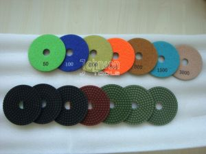 100mm Wet Polishing Pad for Stone with Grade C pictures & photos