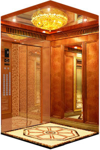 Commercial Building Gearless Passenger Lift pictures & photos