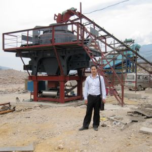 Sand Making Machine Construction Manufacturers / Vertical Shaft Impact Crusher pictures & photos