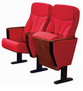 Fabric Seat Cover and Metal Leg Auditorium Chair (RX-318) pictures & photos