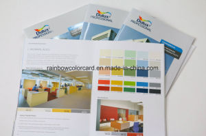 Customized Booking Printing Color Card Brochure with Spot UV pictures & photos