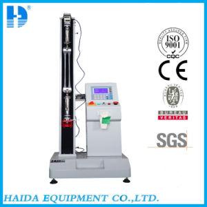 Single Column Fabric Tensile Strength Tester pictures & photos