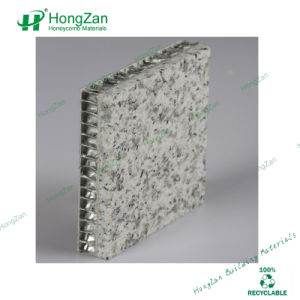Granite Look Aluminum Honeycomb Panel for Decorative Exterior Use pictures & photos