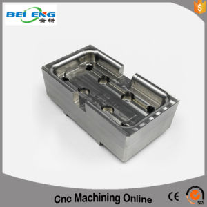 OEM Manufacturer Aluminum Block Machining Parts for Mechanical Equipment CNC Machining Services pictures & photos