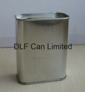 1L Narrow Mouth Rectangle Paint Can pictures & photos