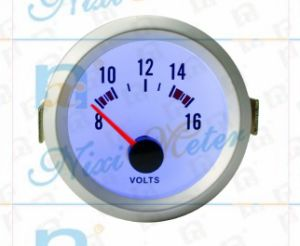 "2"" 52mm Voltmeter Gauge of Cold Light pictures & photos"