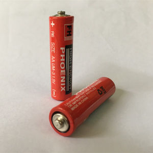 1.5V AA Extra Heavy Duty Battery (R6P) with MSDS SGS Certificate pictures & photos
