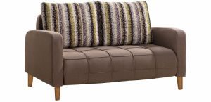 Exquisite and Easy Operate Wooden Legs Sofa Bed pictures & photos
