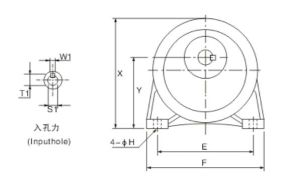 Motor Mount Horizontal Gear Decelerates pictures & photos