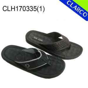 Men EVA Sole with PVC Thongs Slipper Flip Flop pictures & photos