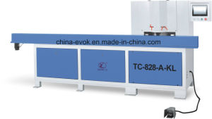Woodworking Automatic Dual Saw Cutting Machine Tc-828-a-Kl pictures & photos