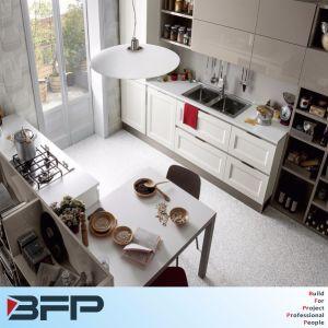 Waterproof PVC Sheet High Gloss Vinyl Wrap Door for Kitchen Cabinet pictures & photos