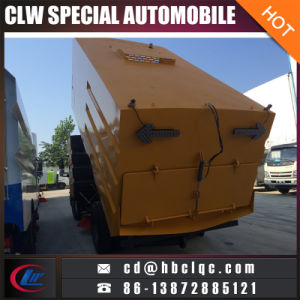9000L Truck Sweeper Dirty-Suction Vehicle Vacuum Sweeper Truck pictures & photos