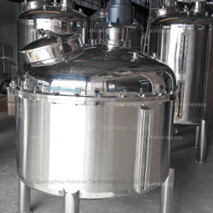 Sanitary Tank Agitator Mixer Blender for Food pictures & photos
