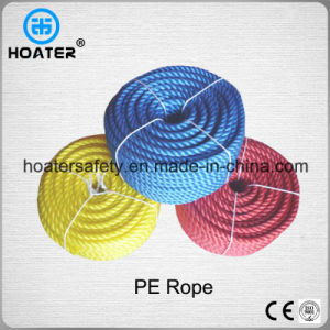 3 Strand Twisted Durable PP/PE Plastic Rope for Outdoor Use pictures & photos
