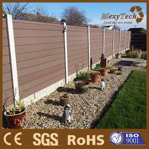 WPC Garden Barrier Residential Fence For Privacy And Security