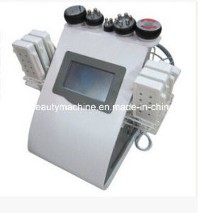 Biopolar RF+Tripolar RF+Multipolar RF /Ultrasonic Facial Beauty Instrument pictures & photos