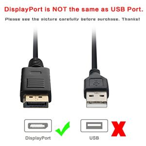 Gold Plated DisplayPort to VGA Cable, DP to VGA pictures & photos