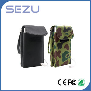 Best Quality Long Working Time 5W Outdoor Portable Solar Energy Charger Folding Bag (Camouflage Green) pictures & photos