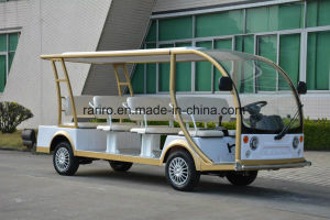 11 Seats Electric Vehicle Rental for Passenger Transportation pictures & photos