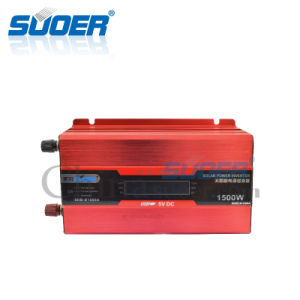 Suoer 1500W 12V 220V Solar Power Inverter (SDB-D1500A) pictures & photos