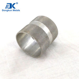 Customized Aluminum and Stainless Steel CNC Machining Sleeve by Draws pictures & photos