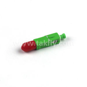 Competitive 0.2dB Sc-St Male to Female Hybrid Fiber Optic Adaptor pictures & photos