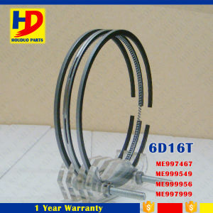 6D16 6D16t Engine Piston Ring for Mitsubishi Excavator Parts (ME999540 ME999555 ME997467) pictures & photos