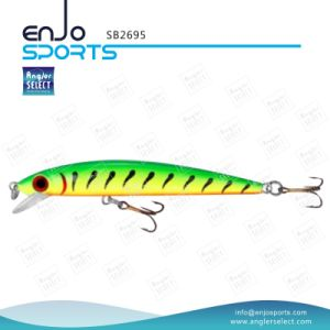 Plastic Artificial Bait Shallow Fishing Hard Lure with Vmc Treble Hooks (SB2695) pictures & photos