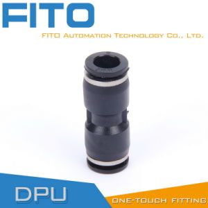 PU Union Straight Pneumatic Fitting One Touch Air Conncetor pictures & photos