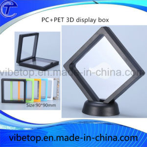 Hot Sale Newest PC Jewelry 3D Floating Frame Display Box pictures & photos