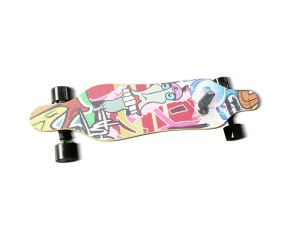 Welcoming Hub Motor 350W*2 Colorful Stickers Remote Control Electric Skatebaord pictures & photos